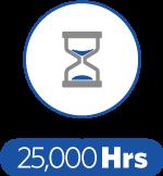 Lifetime-25,000