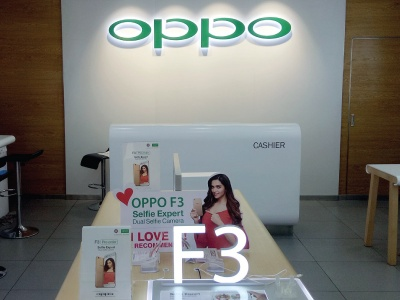 Oppo Showroom - New Dehli, India